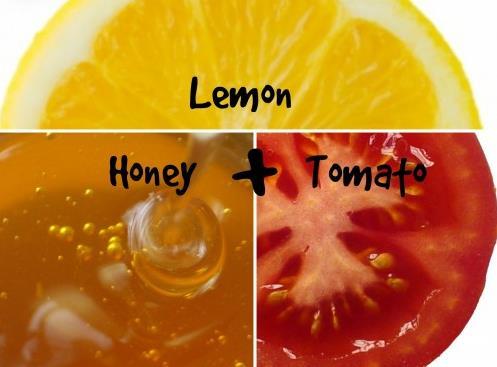 柠檬蜂蜜和番茄